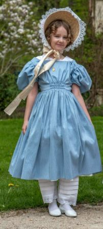 Robe de fillette 1830/40